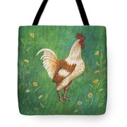 Jagger The Rooster Tote Bag