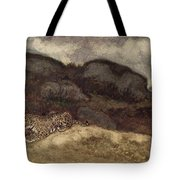 Jaguar Devouring Its Prey Tote Bag by Antoine Louis Barye