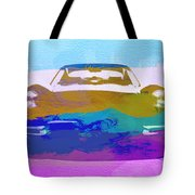 Jaguar E Type Front Tote Bag by Naxart Studio