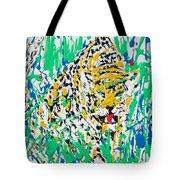 Jaguar - Enamels Painting Tote Bag
