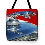 Jaguar Hood Ornament 2 Tote Bag