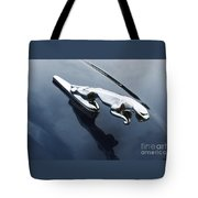 Jaguar Hood Ornament Tote Bag