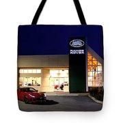 Jaguar Land Rover Harrisburg At Dark Tote Bag