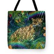 Jaguar Meadow  Variant 1 Tote Bag