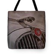 Jaguar Mk II Bonnet Tote Bag