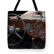 Jaguar Odtimer Steering Wheel Tote Bag