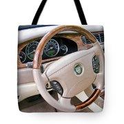 Jaguar S Type Interior Tote Bag