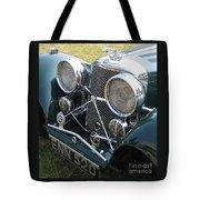 Jaguar Ss100 Tote Bag
