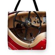 Jaguar Steering Wheel Tote Bag by Jill Reger