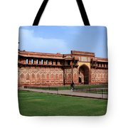 Jahangir Palace Red Fort Agra Tote Bag