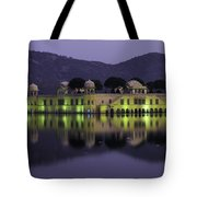 Jai Mahal Water Palace Tote Bag