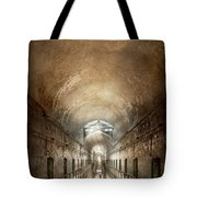 Jail - Eastern State Penitentiary - End Of A Journey Tote Bag