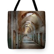 Jail - Eastern State Penitentiary - Endless Torment Tote Bag