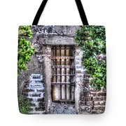 Jail Room Window Tote Bag