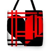 Jailed Heart Tote Bag
