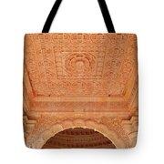 Jain Temple Ceiling - Amarkantak India Tote Bag
