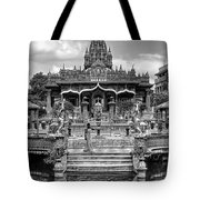 Jain Temple Monochrome Tote Bag