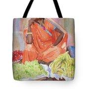 Jaipur Street Vendor Tote Bag