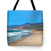 Jalama Beach Santa Barbara County California Tote Bag