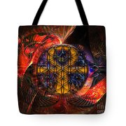 Jaliel Tote Bag by Mynzah Osiris
