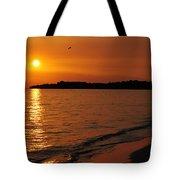 Jamaica Sunset Tote Bag