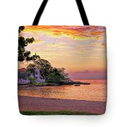 Jamaican Sunset Tote Bag