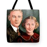 James And Ina K Tote Bag