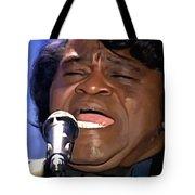 James Brown Portrait Tote Bag