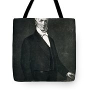 James Buchanan Tote Bag by Eliphalet Frazer Andrews