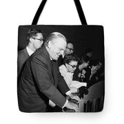 James Cagney Dublin 1958 Tote Bag