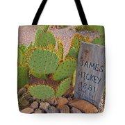 James Hickey Shot  Tote Bag