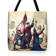 James IIi Lands In Scotland, 1715 Tote Bag