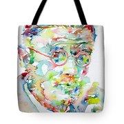 James Joyce Portrait.1 Tote Bag