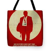 James Poster Red Tote Bag