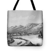 James River Canal, 1857 Tote Bag