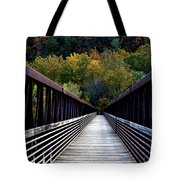 James River Footbridge Tote Bag