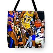 James Worthy Tote Bag
