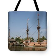 Jamestown Historic Sailingships Tote Bag