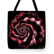 jammer Red Ribbon Tote Bag