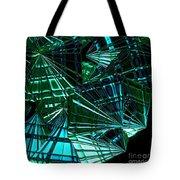 Jammer Swirling Emeralds  Tote Bag