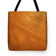 Jammer Tangerine Abstract Tote Bag