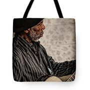Jamming On The Street Tote Bag