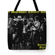 Jamming With Jimmy Hall Tote Bag