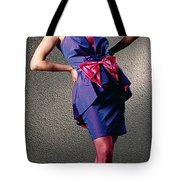 Janepinkbow-b Tote Bag