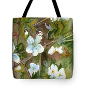 Jane's Apple Blossoms 1 Tote Bag