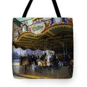 Jane's Carousel 1 In Dumbo Tote Bag