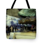 Jane's Carousel 3 In Dumbo Tote Bag