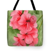 Jane's Flowers Tote Bag