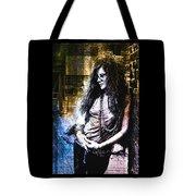 Janis Joplin - Gold Tote Bag