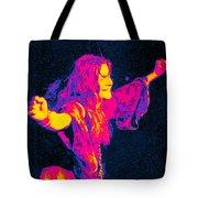 Janis Joplin Psychedelic Fresno 2 Tote Bag by Joann Vitali